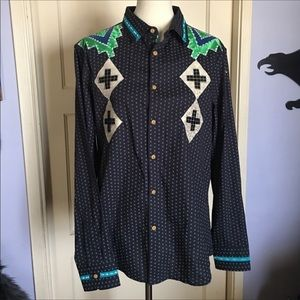 Level Ten LG Southwestern Button Up Shirt